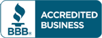 We're a Better Business Bureau accredited business!